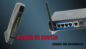 Módem vs Router