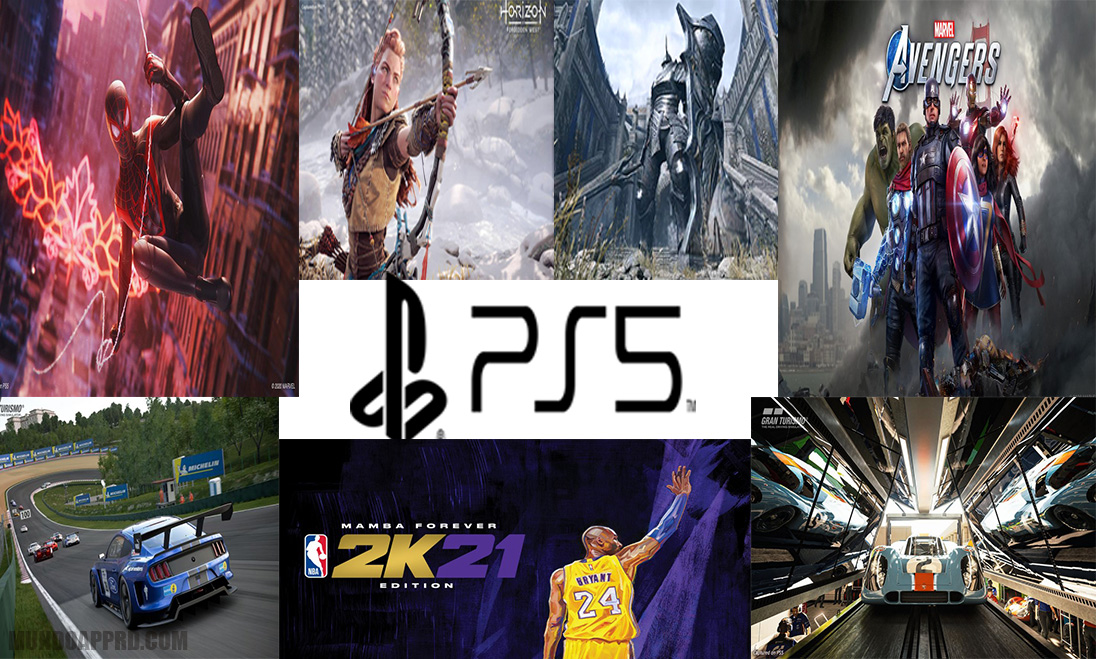 Juegos disponibles para PS5